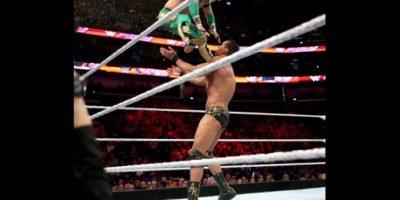 Alberto del Rio pone en juego el Campeonato de los Estados Unidos Foto:WWE