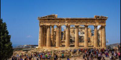 La Acrópolis, Grecia. Foto:Vía Flickr