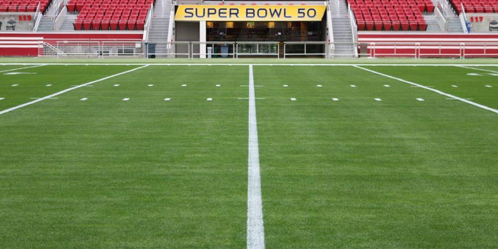 El Super Bowl 2016 se disputará el 7 de febrero. Foto:Levi´s Stadium