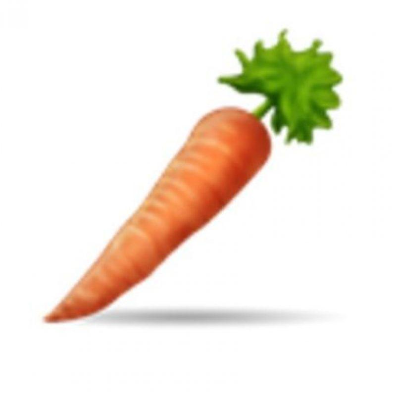 Zanahoria. Foto:vía emojipedia.org