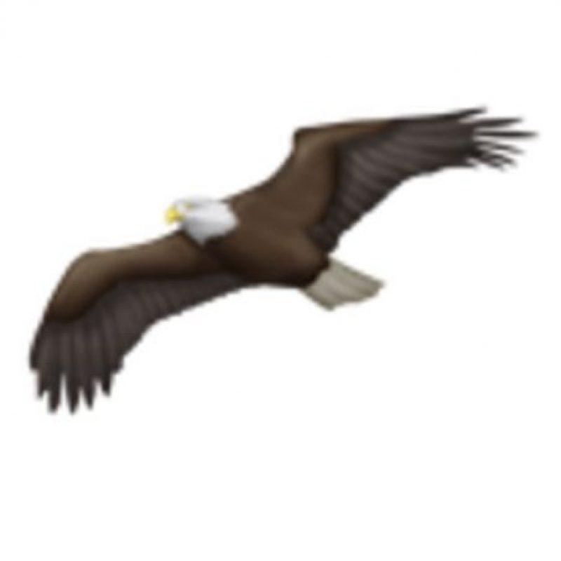 Águila. Foto:vía emojipedia.org