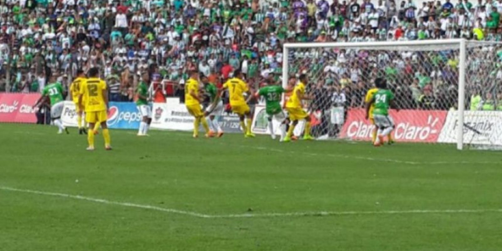 Imagen de la última final del fútbol nacional. Foto:Publinews