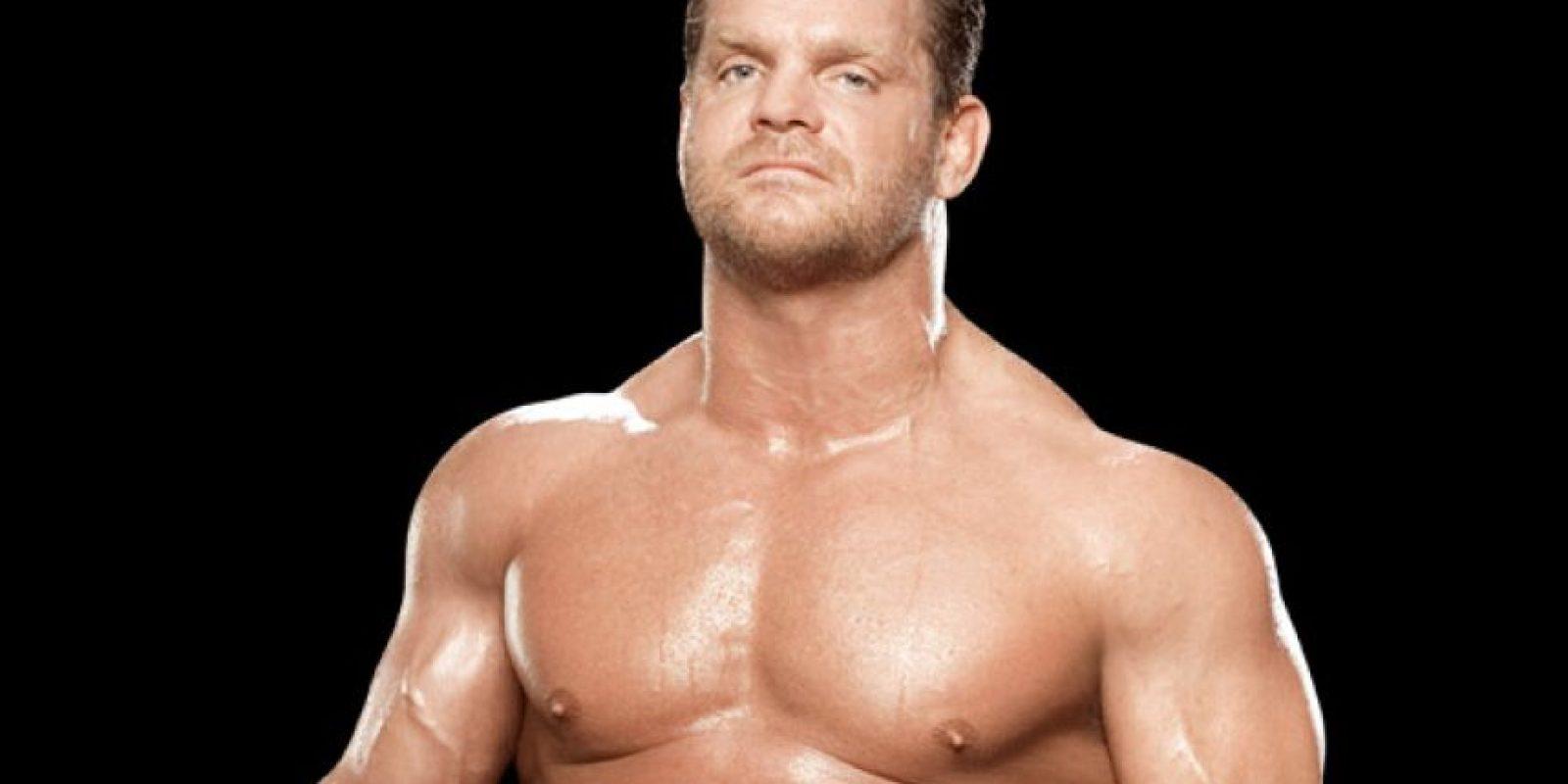 Y Chris Benoit en 2004 Foto:WWE