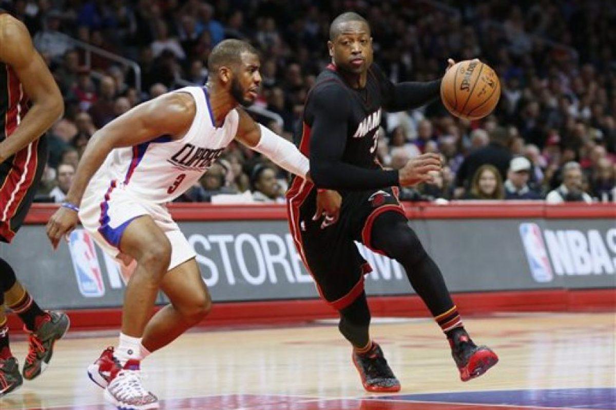 Dwyane Wade jugador del Miami Heat. Foto:AP
