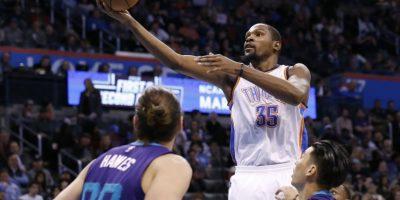 Kevin Durant estará nuevamente en el Juego de Estrellas. Foto:AP