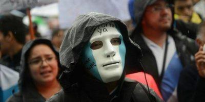 Colectivo Plantones por la Dignidad rechaza a grupos que buscan enfrentamiento