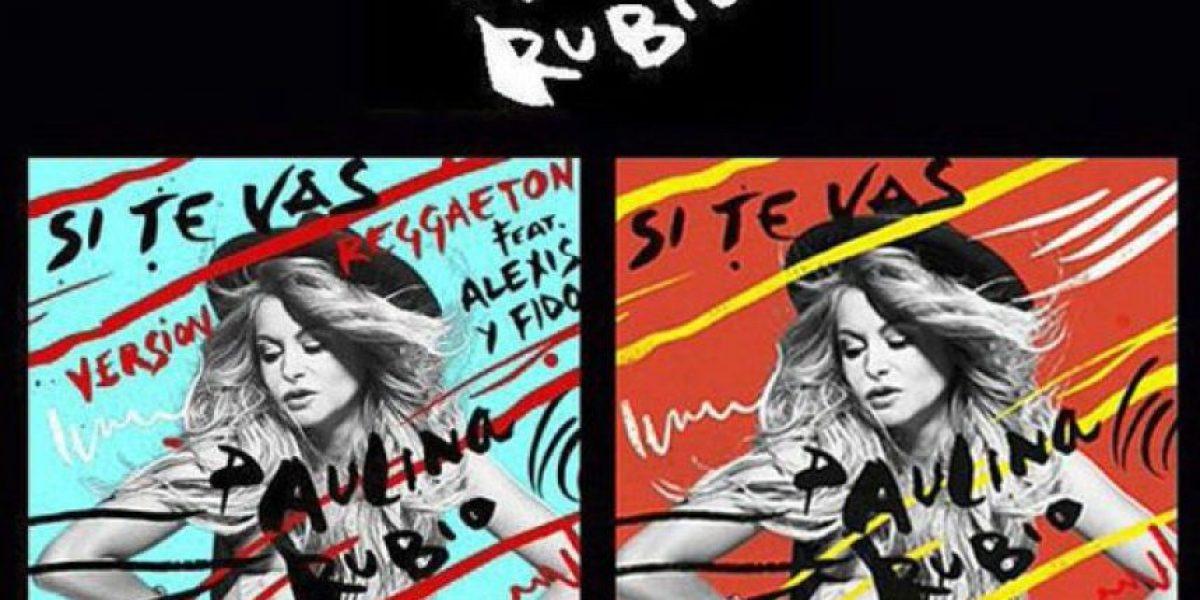 Paulina Rubio lanza versión reggaeton de
