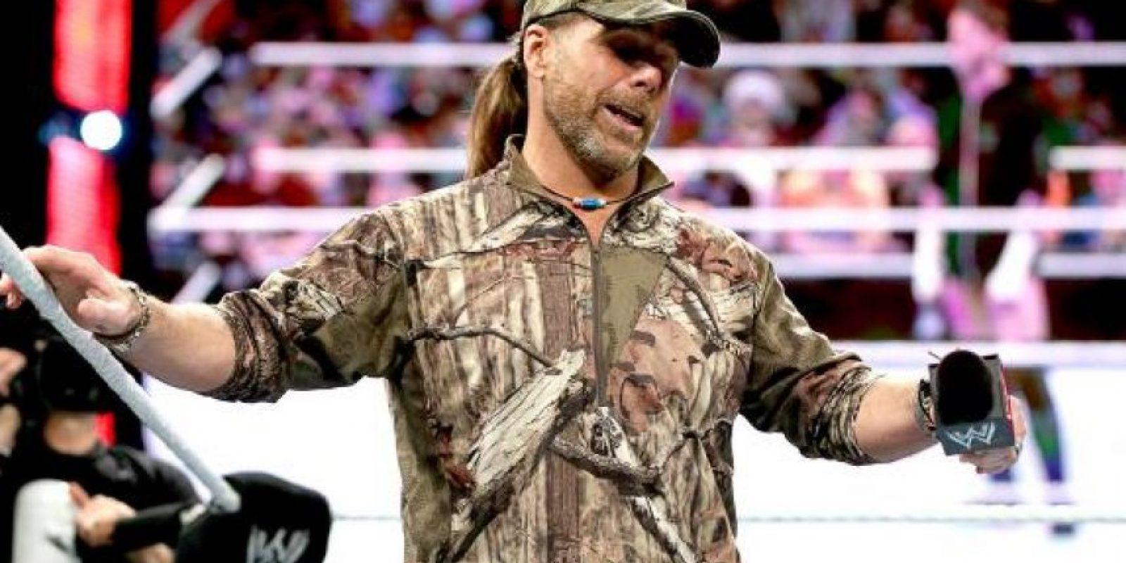 4. Dos luchadores han ganado la batalla real, después de entrar en primer lugar: Shawn Michaels en 1995 Foto:WWE