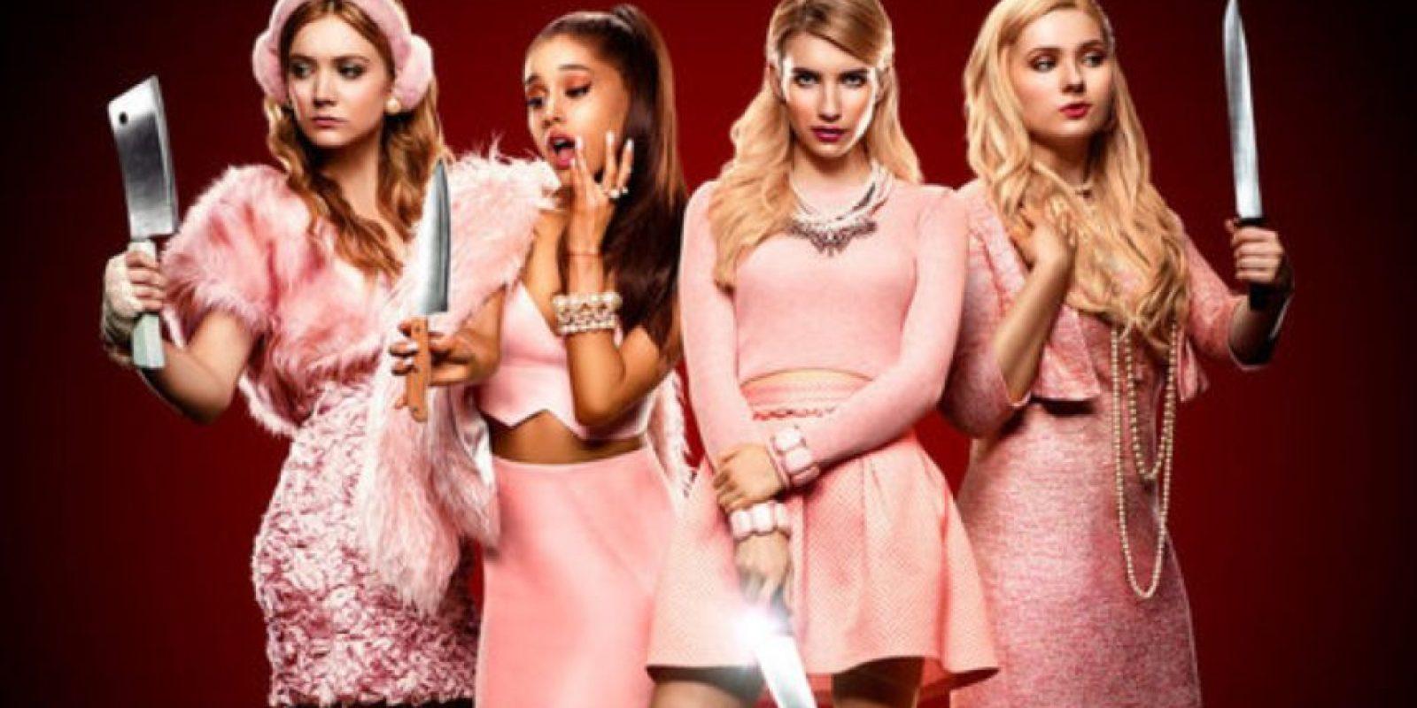 """""""Scream Queens"""" muestra los brutales asesinatos dentro de una hermandad universitaria de chicas. Foto:vía FOX"""