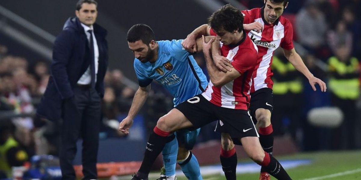 Árbitro del partido FC Barceona vs. Athletic de Bilbao, cuartos de final Copa del Rey 2016