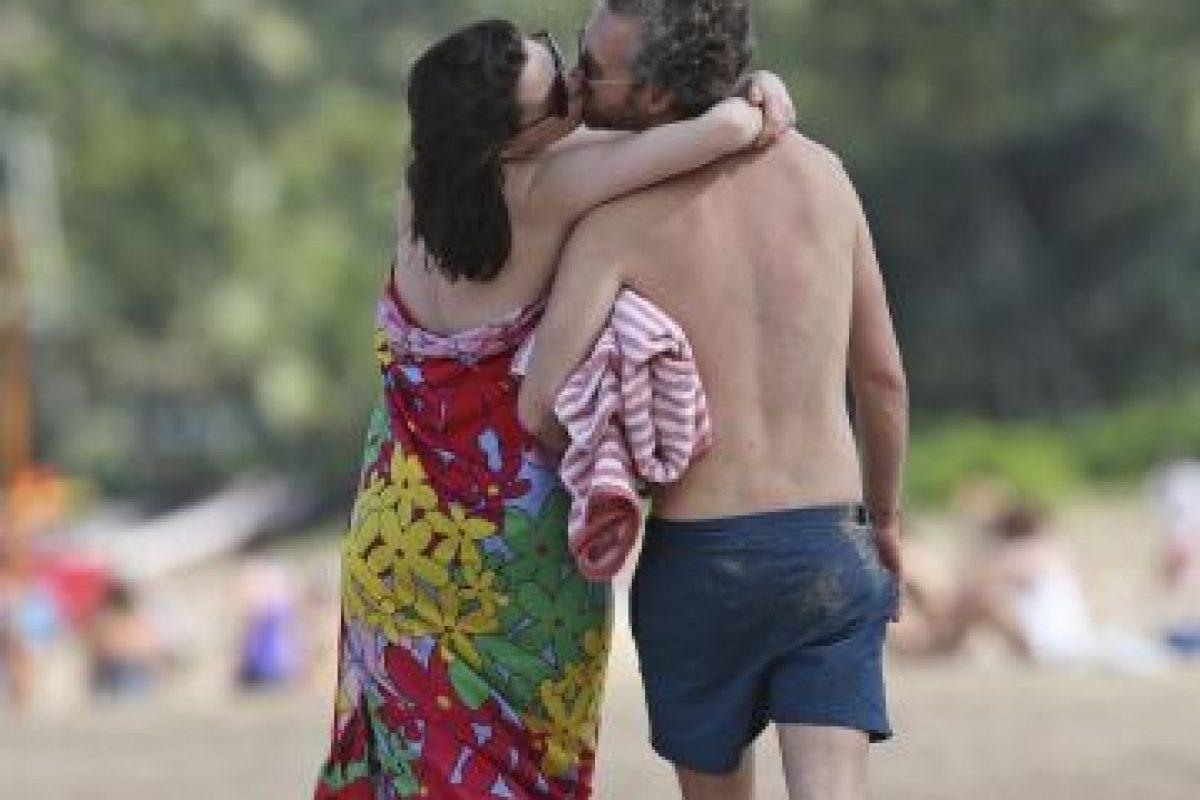 Definitivamente la pareja no puede ocultar su entusiasmo por el bebé. Foto:Grosby Group