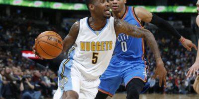 Russekk Westbrook de los Denver Nuggets. Foto:AP
