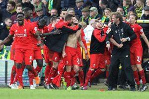 Los reds se llevaron un importante triunfo. Foto:AFP