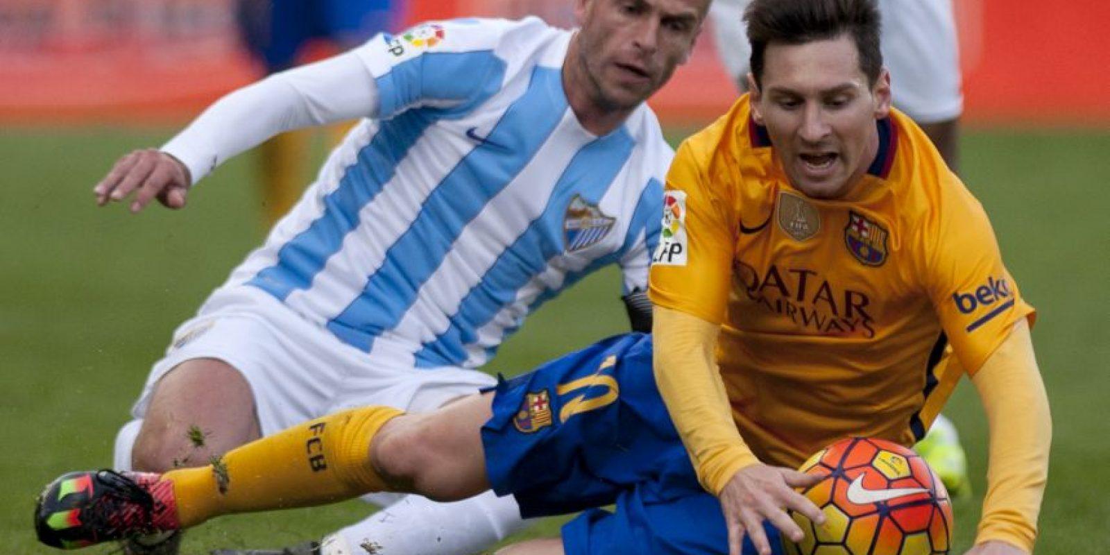 Messi nuevamente fue la gran figura de los dirigidos por Luis Enrique. Foto:AFP