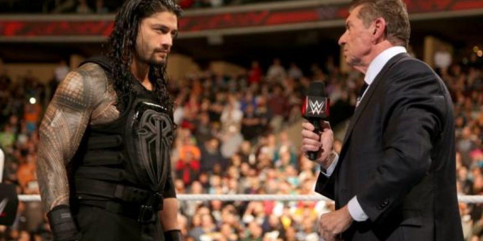 """¿Imaginan al """"Jefe"""" como nuevo campeón? Foto:WWE"""
