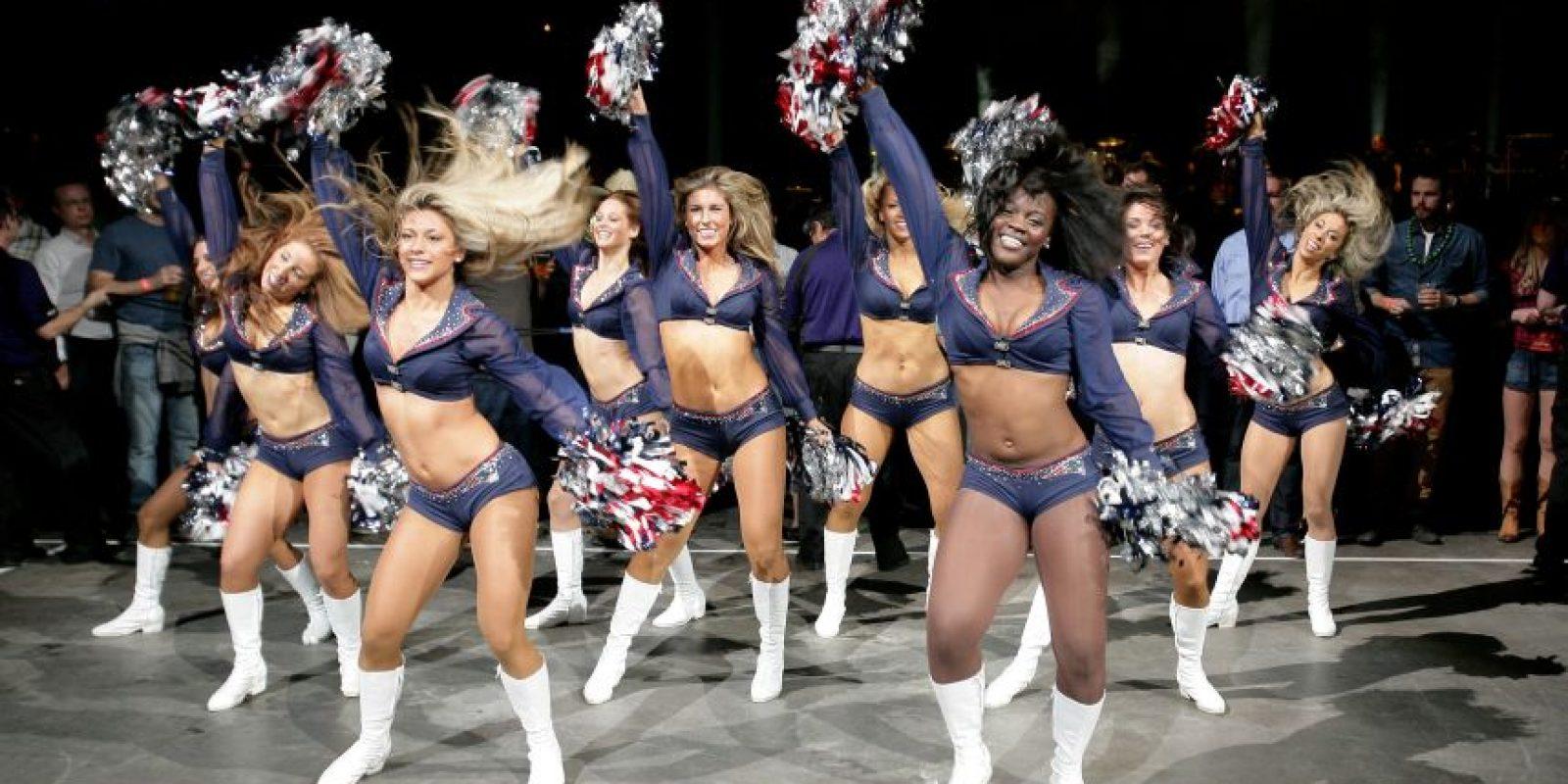 Las cheerleaders de los New England Patriots Foto:AFP