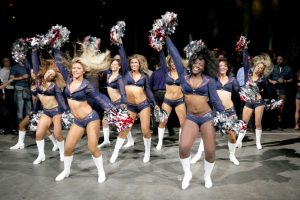 Las cheerleaders de los New England Patriots Foto: AFP