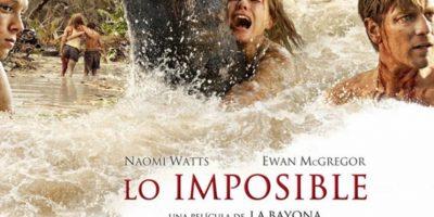 """4- """"Lo imposible"""". Foto:vía Netflix"""