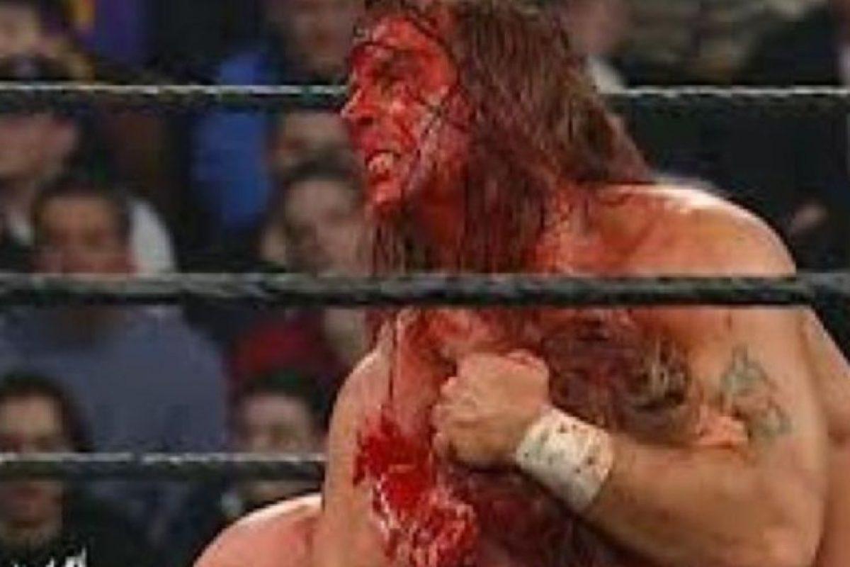 Shawn Michaels vs Triple H, en Royal Rumble 2004. Hubo un tiempo en el que los eternos amigos tuvieron sus rencillas. Foto:WWE