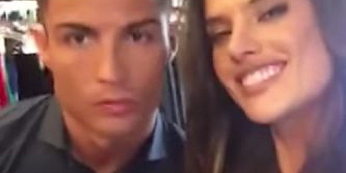 Video: Así fue la sugerente sesión de fotos de Alessandra Ambrosio y Cristiano Ronaldo