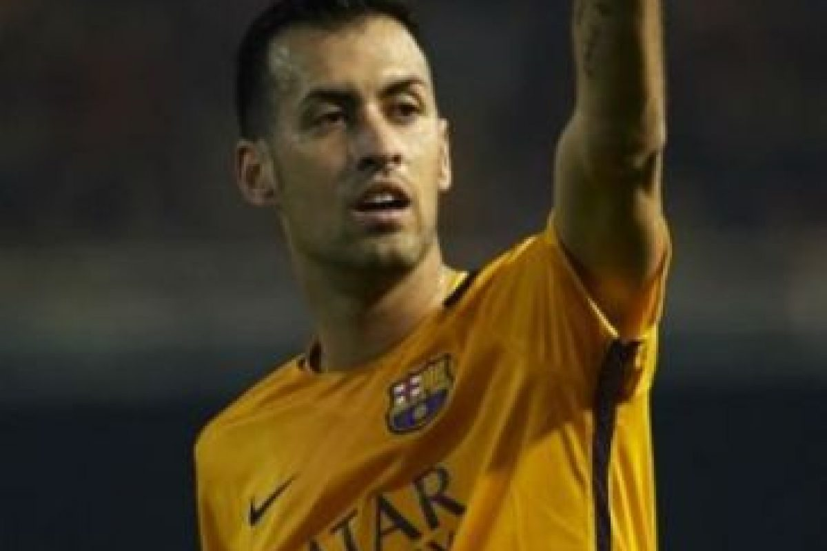 Sergio Busquets. Foto: Getty Images