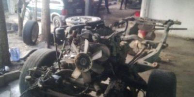 Desarticulan banda que se dedicaba a robar y desmantelar vehículos