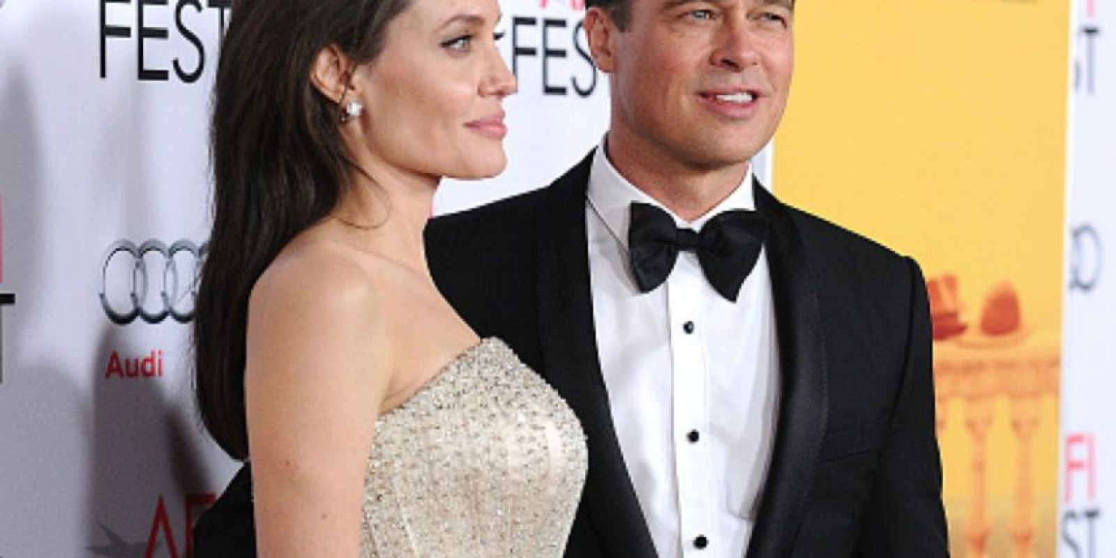 En cuanto a la pareja Jolie- Pitt, se rumorea que ella sufre de varias enfermedades. Causó impacto por su extrema delgadez. Foto:vía Getty Images