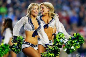 Las cheerleaders poseen un cuerpo envidiable. Foto:AFP