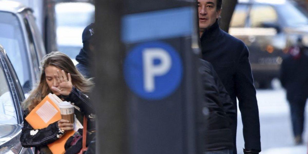 A más de un mes de haberse casado Mary Kate Olsen no luce nada bien