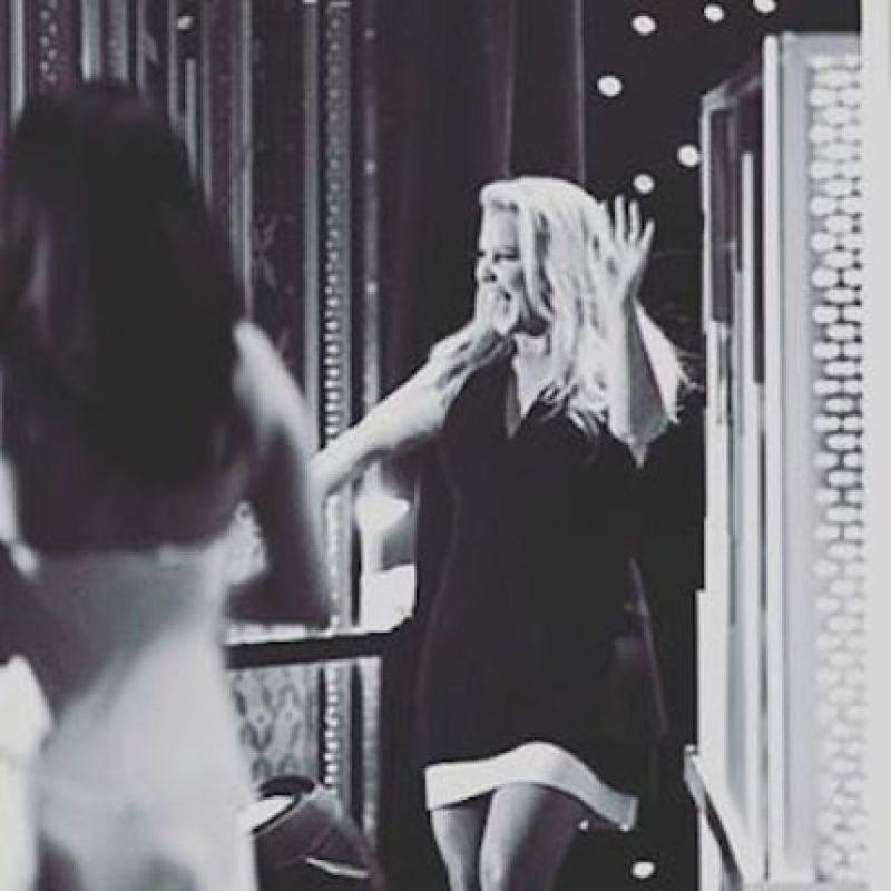 """El """"detrás de cámaras de su trabajo"""" Foto:Instagram.com/SelenaGomez"""
