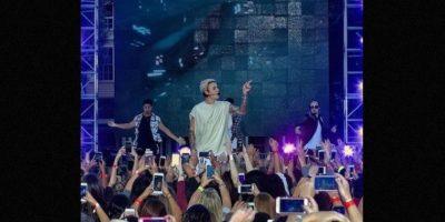 """Justin Bieber no siempre ha sido el """"chico malo""""… Foto:Getty Images"""