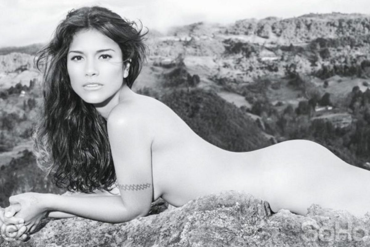 Ana posó para la edición colombiana de la revista SoHo. Foto:Vía soho.com.co