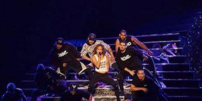 Jennifer López mostró de más en uno de sus conciertos en Las Vegas