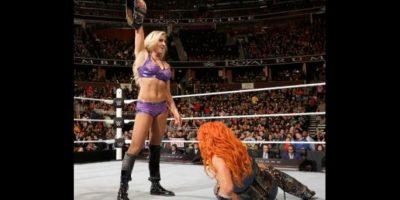Superó a Becky Lynch Foto:WWE