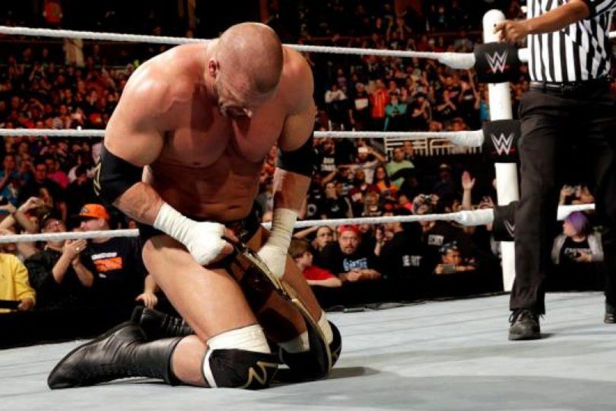 """En una gran sorpresa, Triple H ganó la """"Batalla Real"""" Foto:WWE"""