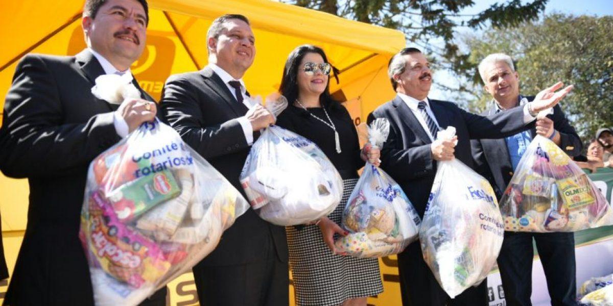 Grupo Emisoras Unidas entrega ayuda a damnificados de El Cambray