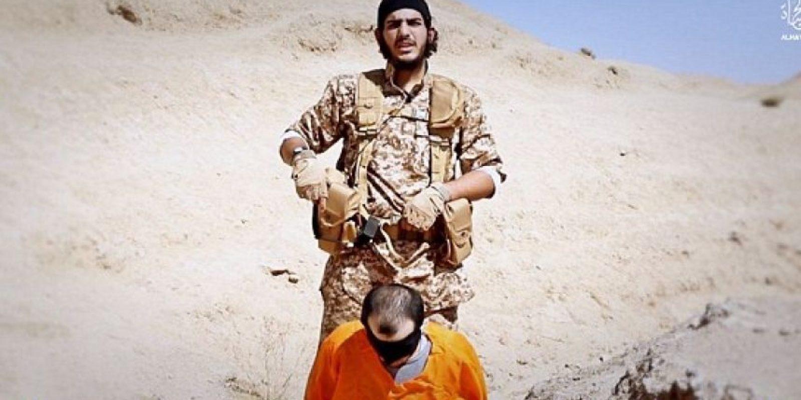Ali Al-Iraqui. También se inmoló cerca del Estadio de Francia. Foto:Video de Estado Islámico