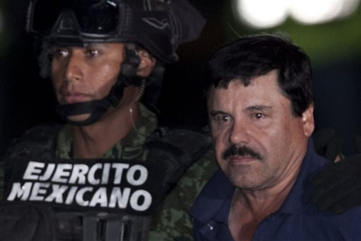 El narcotraficante fue capturado en el estado de Sinaloa después de un tiroteo. Foto:AP