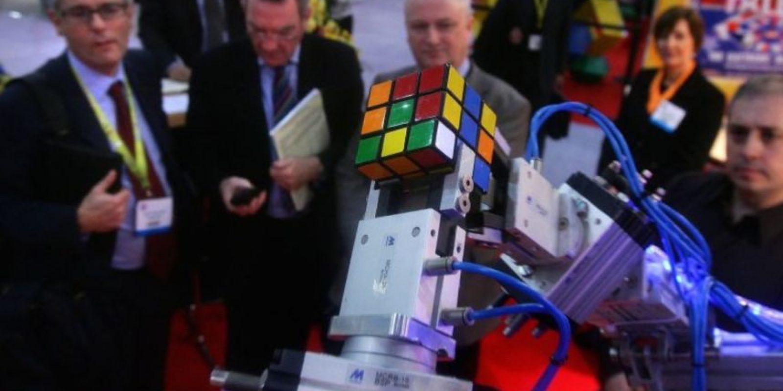 """El amor por el cubo de Rubik hizo que se creara un movimiento artístico llamado """"rubikcubismo"""". Foto:Getty Images"""