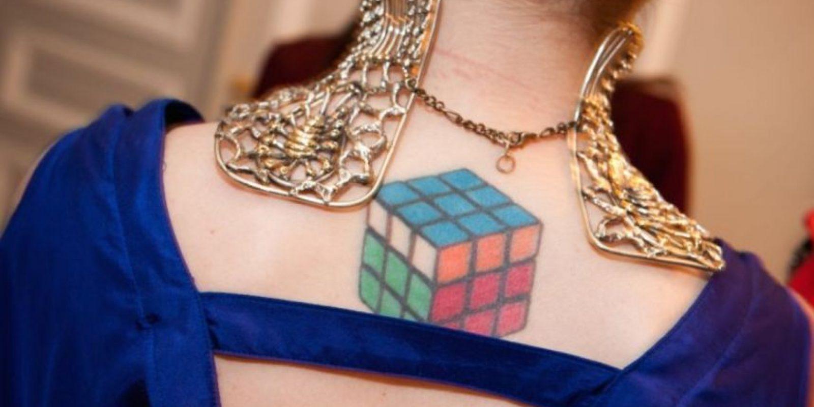 En 1981 se realizó una exhibición del cubo de Rubik en el Museo de Arte Moderno de Nueva York. Foto:Getty Images
