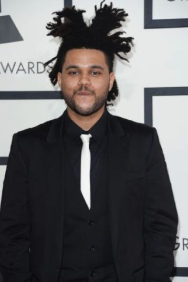 The Weeknd – Músico canadiense. Foto:Getty Images
