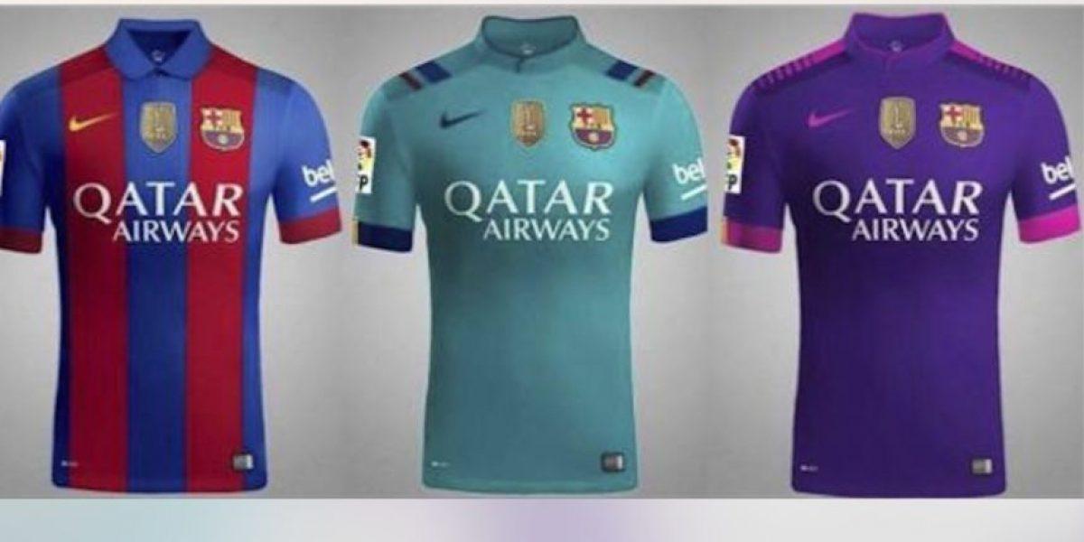 Este sería el uniforme del Barcelona para la temporada 2016-2017