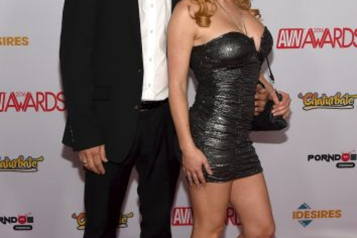 Filthy Rich y Krissy Lynn Foto: Getty Images