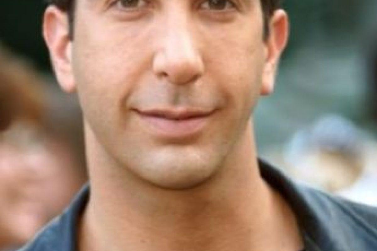 David Schwimmer,así era antes Foto:Getty Images