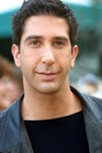 David Schwimmer,así era antes Foto: Getty Images