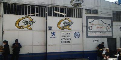 """Fotos. El taller donde """"terminan"""" los carros robados"""