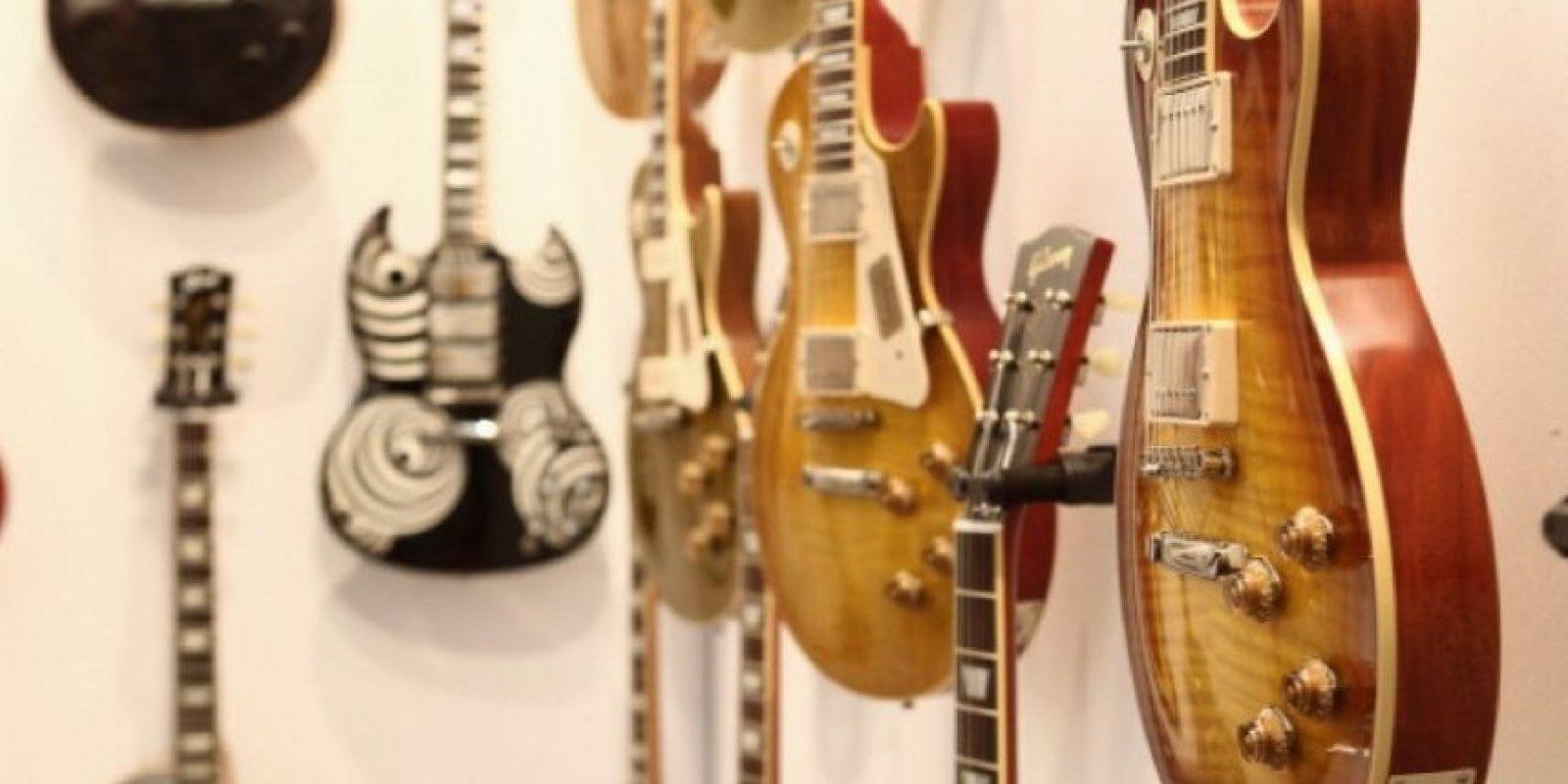 Ustedes pueden ser los mejores guitarristas del mundo. Foto:Getty Images