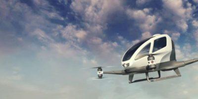 Video: Estos drones pronto podrán transportar pasajeros