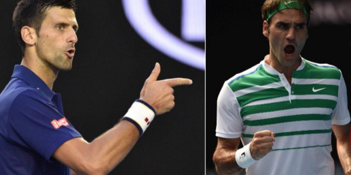 Djokovic y Federer protagonizarán una final anticipada en Australia