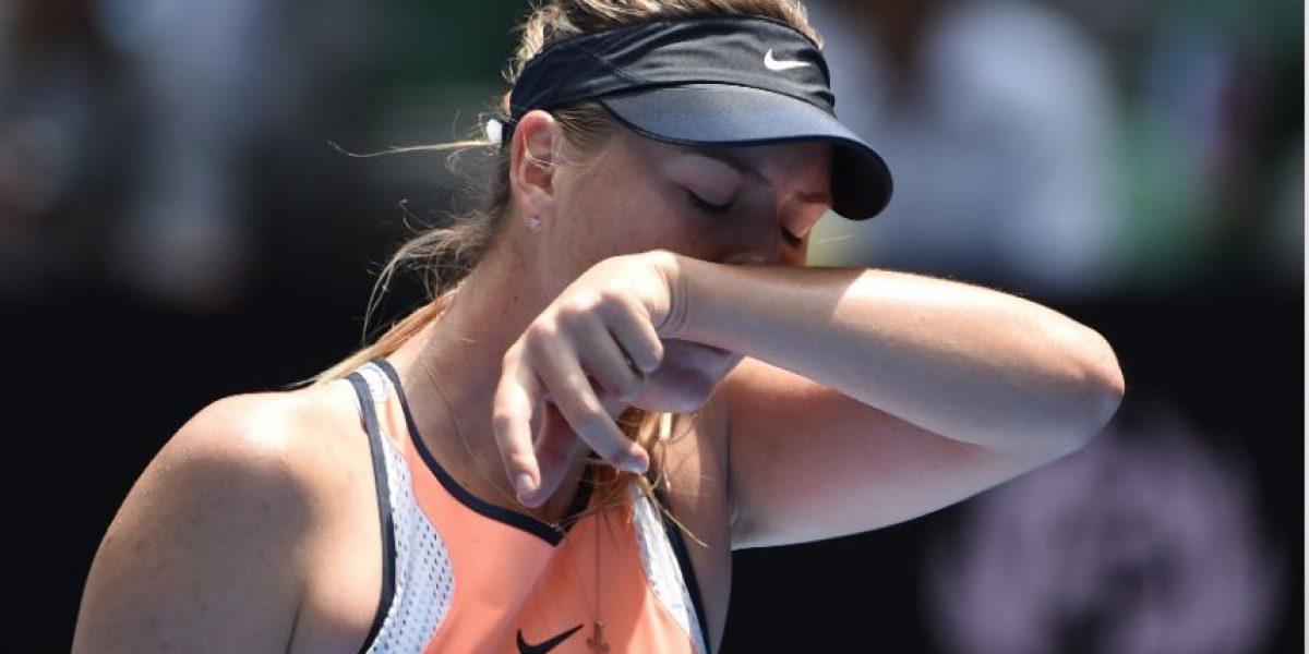 Famosa tenista María Sharapova recibe amenazas de su federación